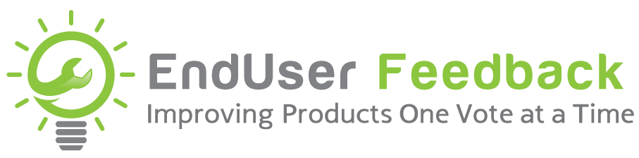 End User Feedback Logo
